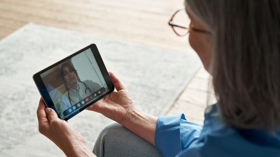 Web-based remote rehab
