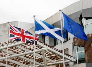 Flags - Union, Saltire & EU